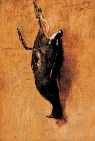 La Poule d'eau à Auvers, C.F DAUBIGNY