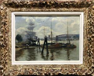 Le Port de Rotterdam, GOENEUTTE Norbert