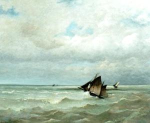 La-mer-en-vue-à-Cayeux, DUPRE Jules
