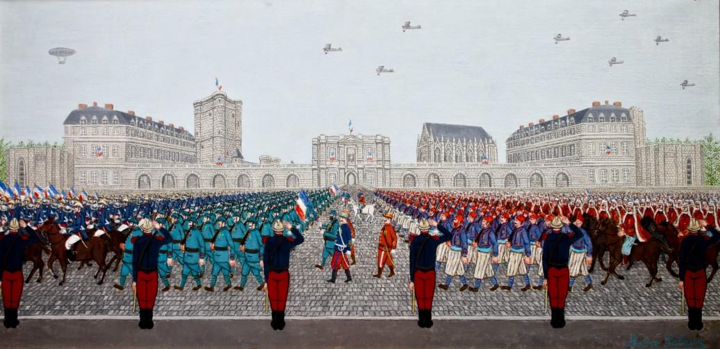 Défilé à Vincennes, SALAÜN