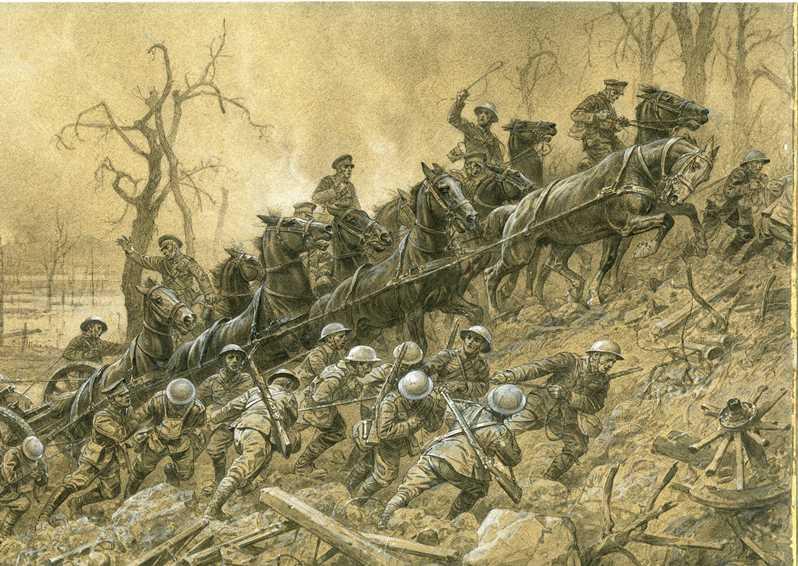 dessin, Musée de la Grande guerre de Meaux